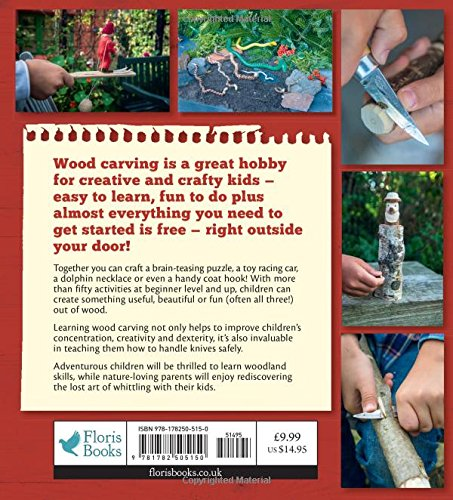 Easy Wood Carving for Children: Fun Whittling Projects for