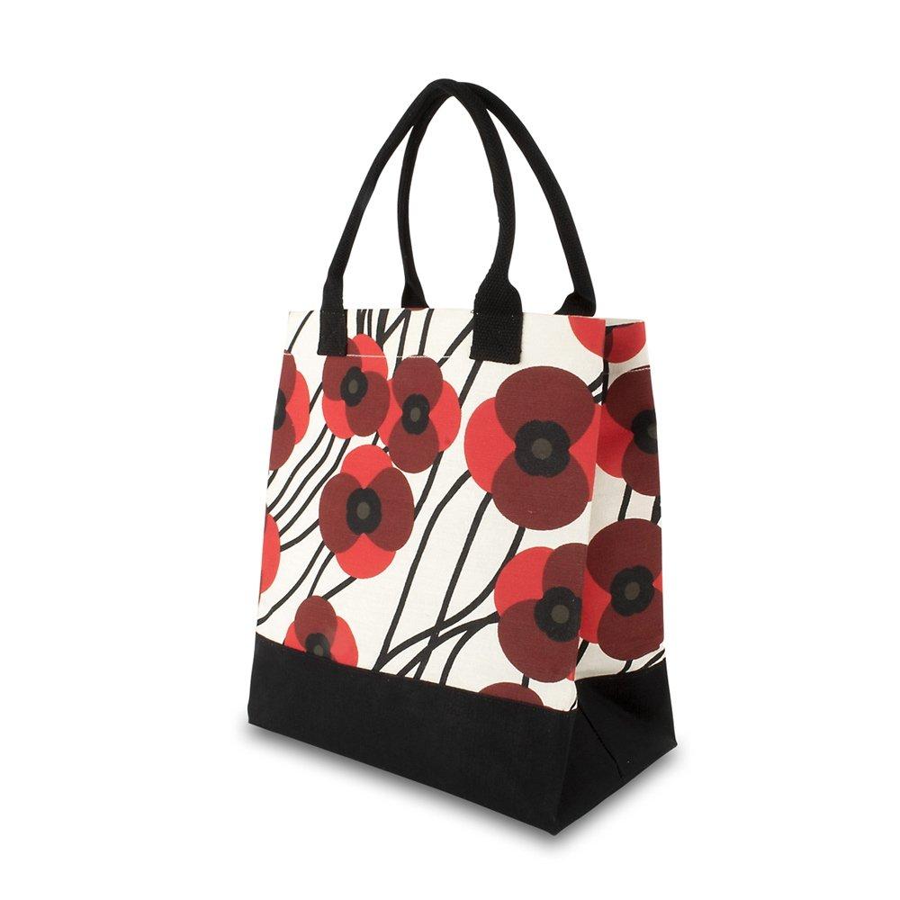 The Royal British Legion Orla Kiely Meadow Poppy Juco Bag