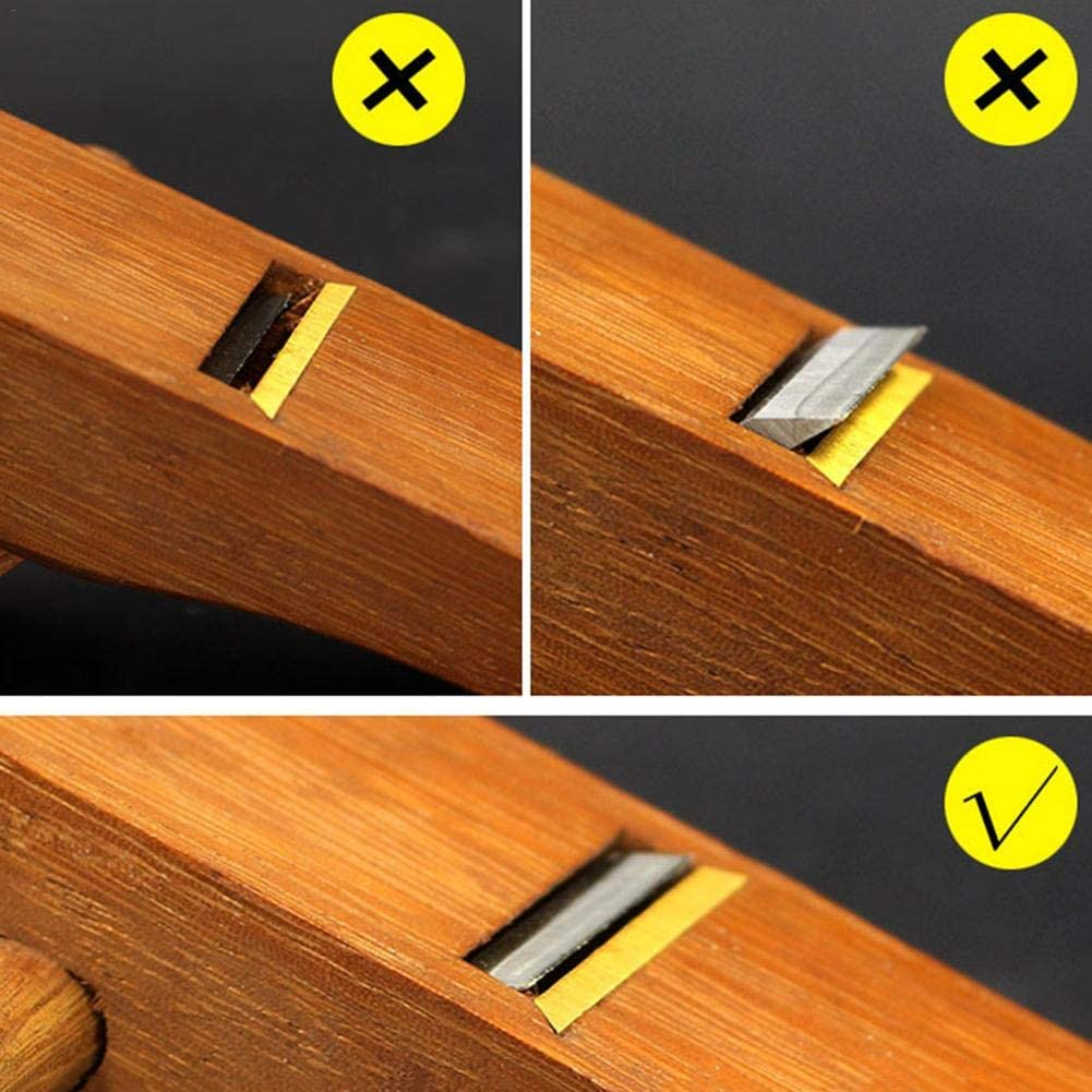 Blentude Mini Woodworking Handcraft-Trimming Tools Flugzeug 10,8 4,5 2,5 cm