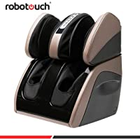 Robotouch Classic Plus Foot and Calf Massager with Sole Rollers (Grey)