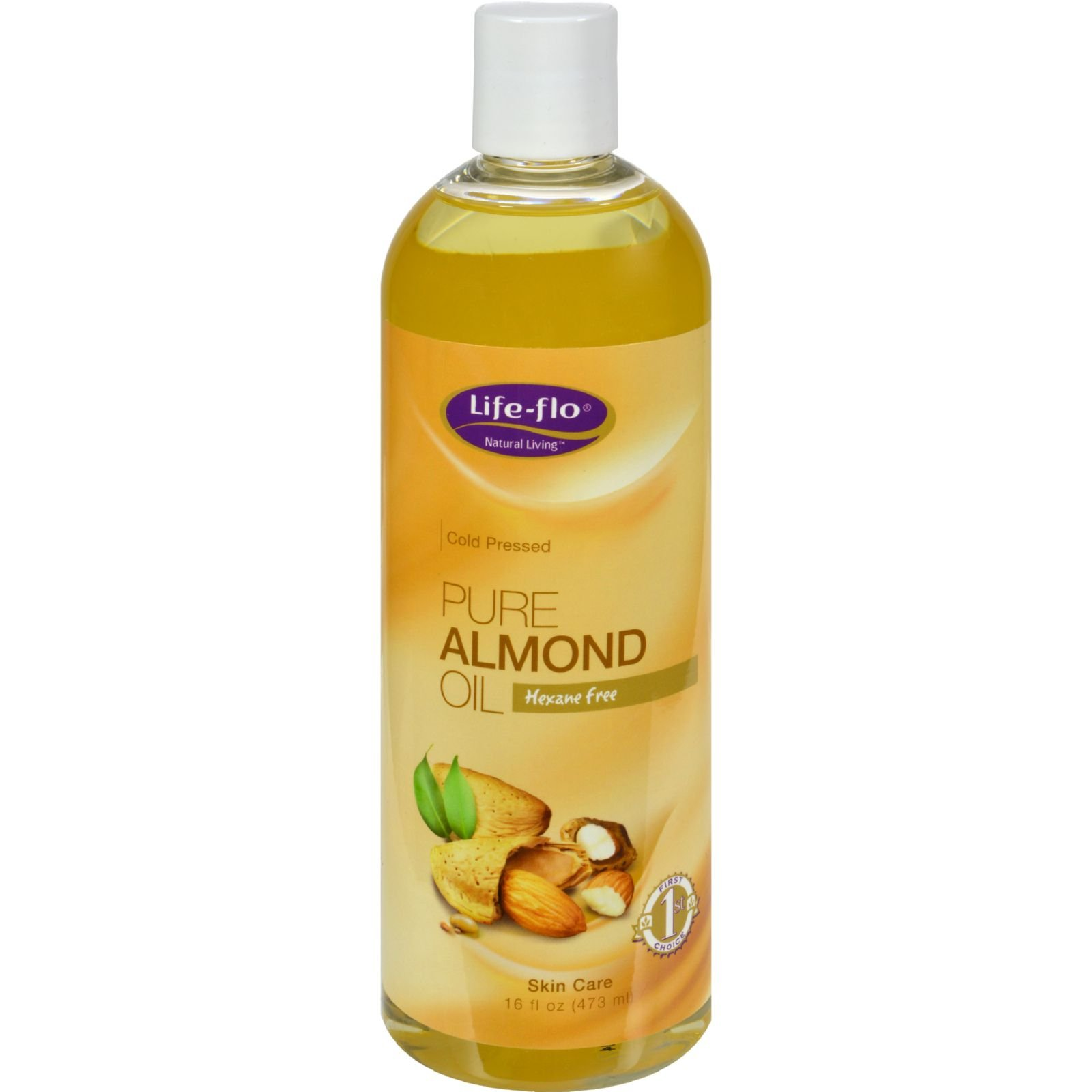 2Pack! Life-Flo Pure Almond Oil - 16 fl oz