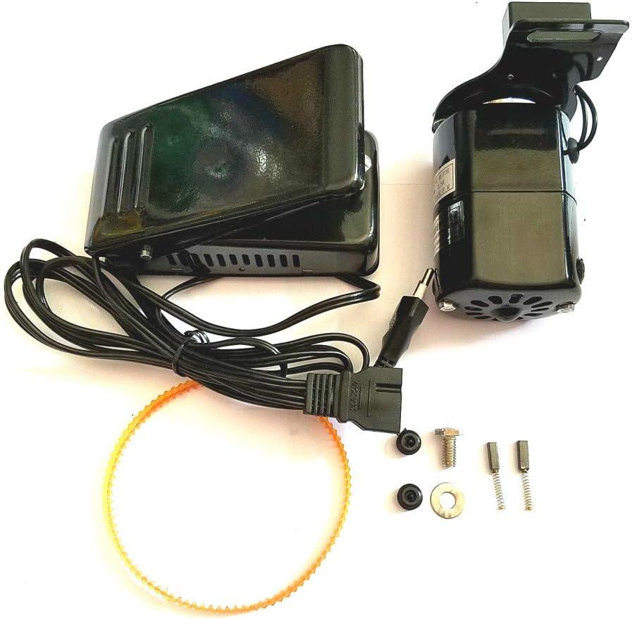 RETYLY 1 Unidades Negro 1.0 mps Universal MáQuina de Coser para el Hogar Motor Pedal Controlador 100W EU Plug: Amazon.es: Hogar