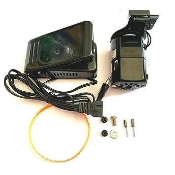 TOOGOO 1 Unidades Negro 1.0 Amps Universal MáQuina de Coser para ...