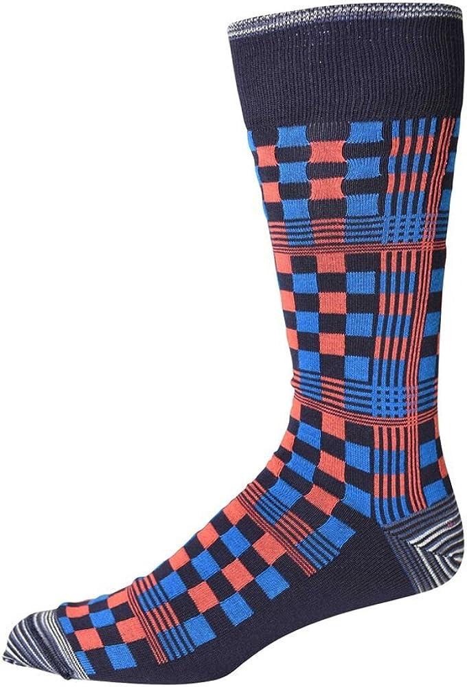 Robert Graham Broadaxe Sock in Navy