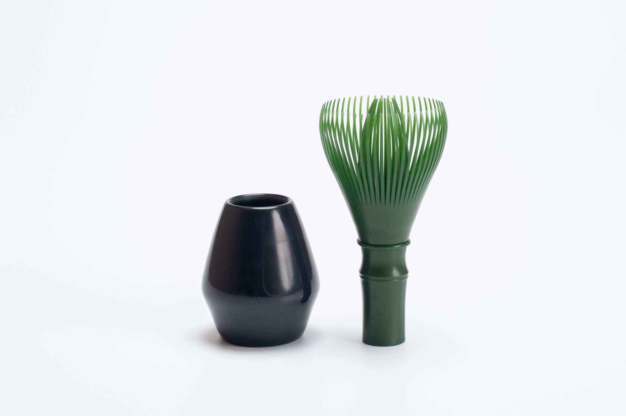 Matcha Tea Whisk Made of Dishwasher Safe Polypropylene Plastic''Fugetsu Chasen'' Made in Japan [Forest Green] by Fugetsu