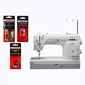 Janome 1600P-QC High-speed Straight-Stitch Machine & FREE BONUS ...