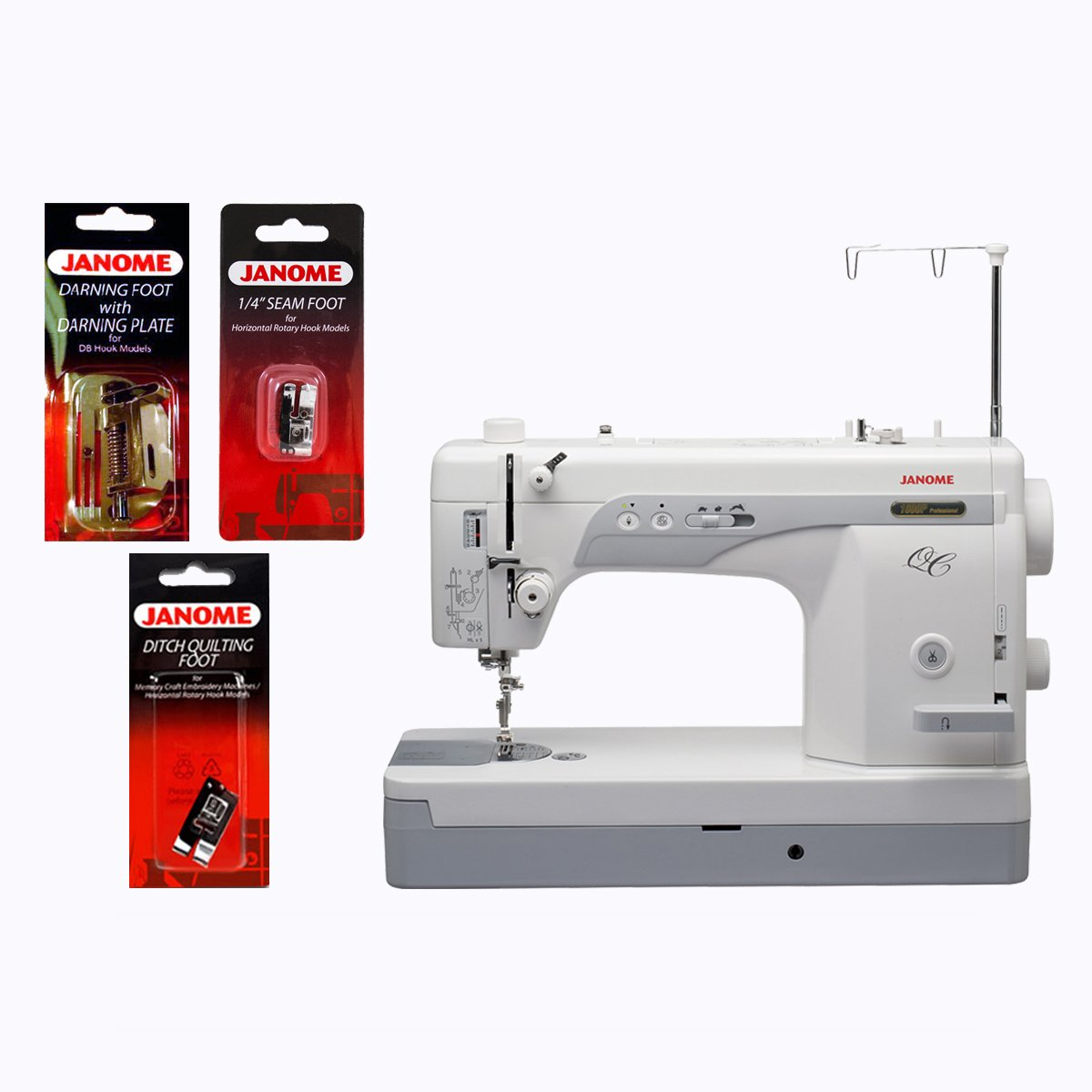 NEW Janome 1600P-QC Straight-Stitch Machine and Kit FREE SHIPPING | eBay