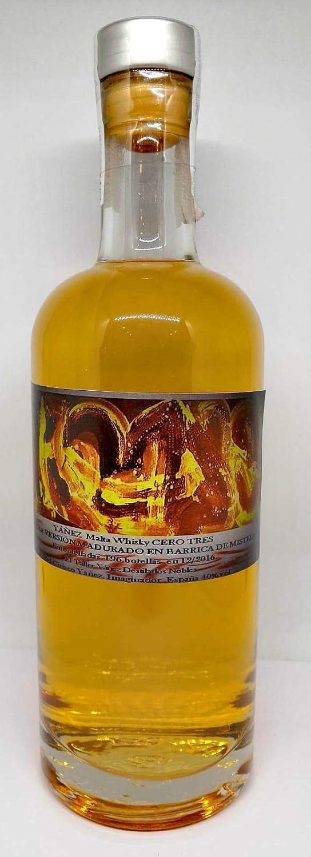 Yáñez Whisky Malta Cero Tres madurado en Barrica de Mistela: Amazon.es: Alimentación y bebidas