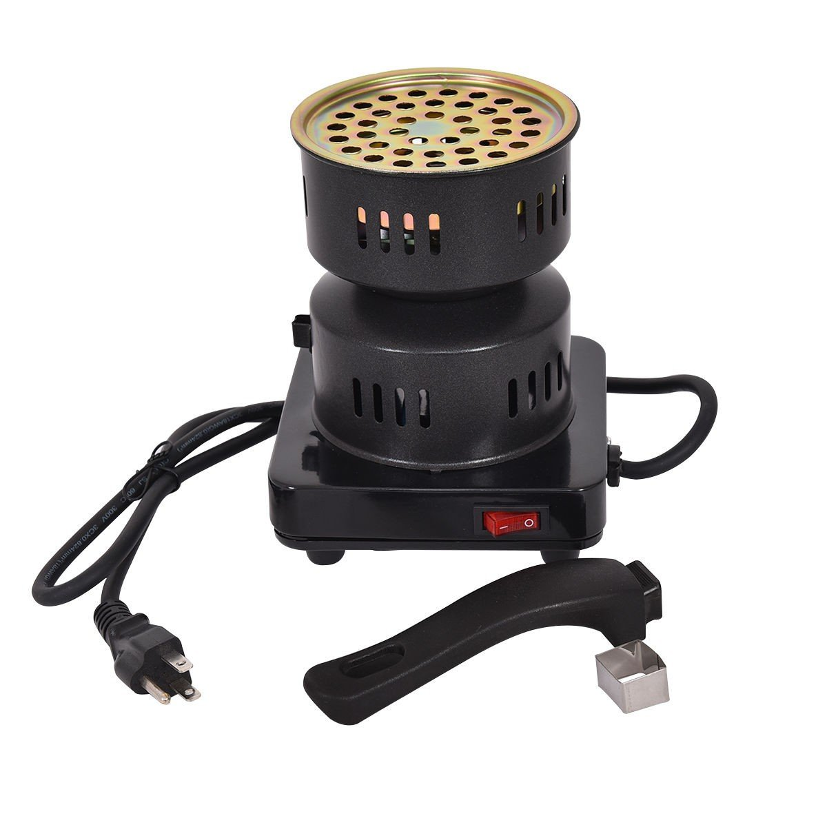 Electric Coal Starter Heater Stove Charcoal Burner BBQ - By Choice Products