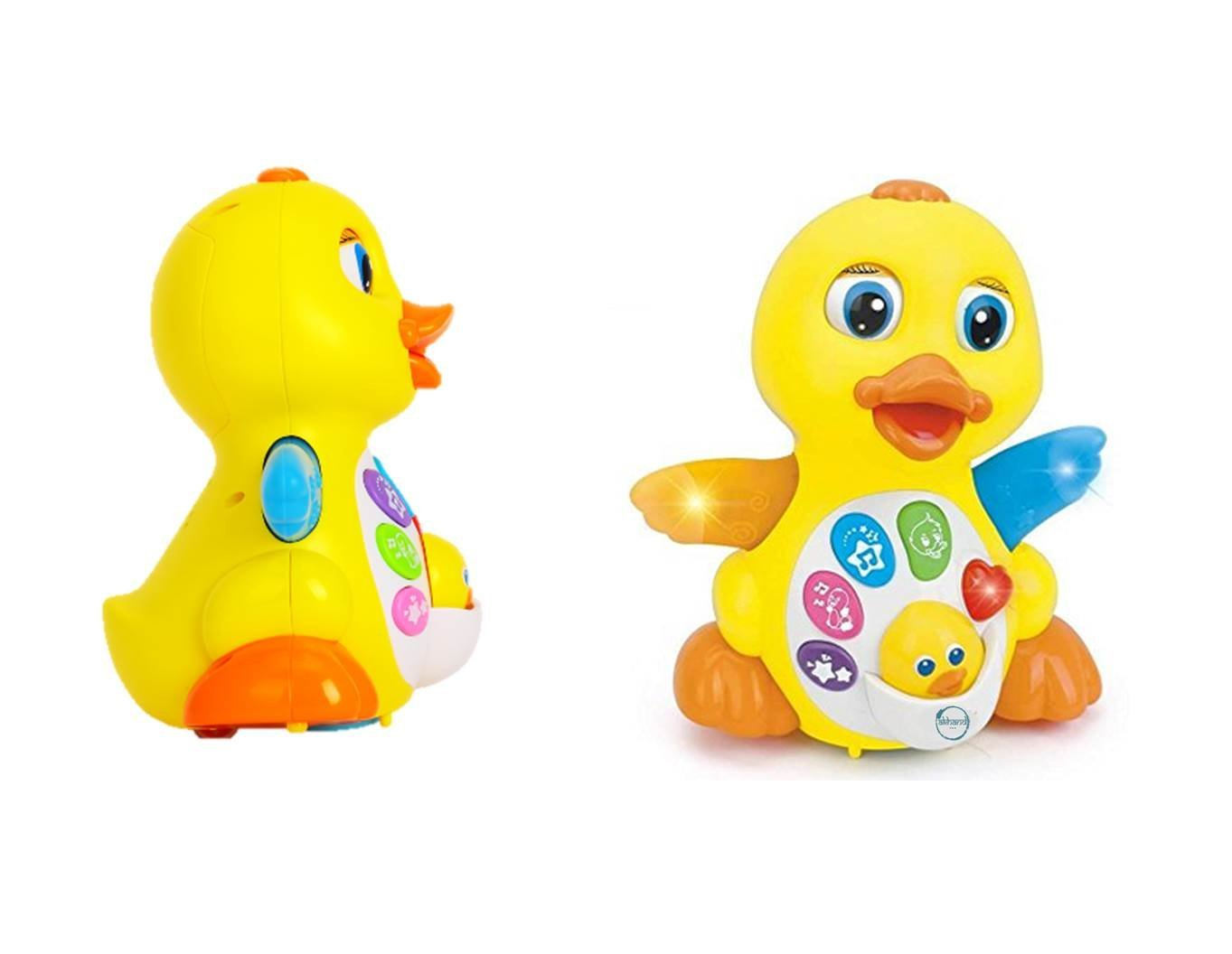 Buy EQ Flapping Musical Duck Yellow Online at Low Prices in India ...