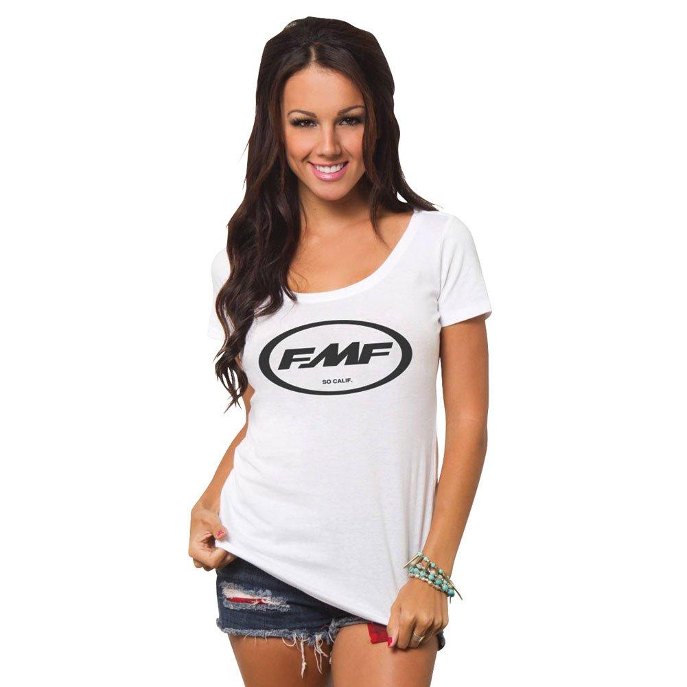 5d55075f56d0c FMF Womens Classic Don Scoop Short-Sleeve Shirt - DirtRider   MX ...