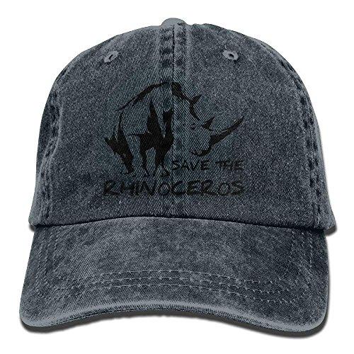 Walnut Cake Gorras béisbol Rhinoceros Unisex Adult Denim Dad Baseball Hat Sports Outdr Cowboy Cap For Men and Women