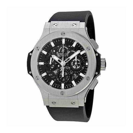 Hublot Big Bang Aero Bang Acero Negro Dial Automático Mens Reloj 311. SX. 1170. RX: Amazon.es: Relojes
