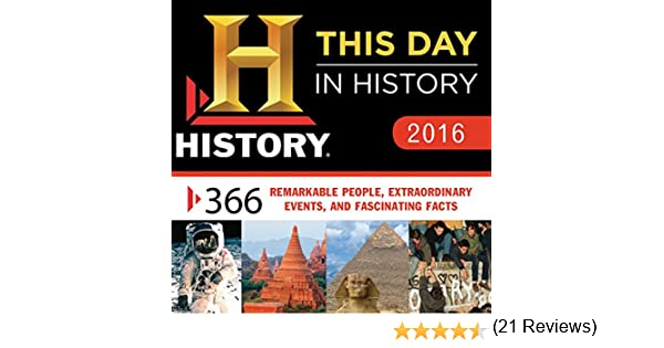 2016 History Channel This Day in History Boxed Calendar: 365 ...