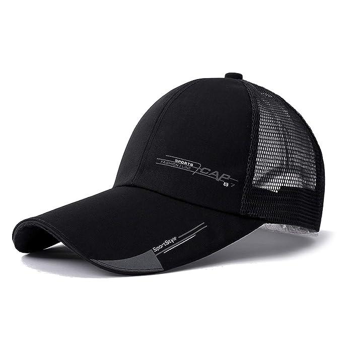 059ac9b75b8 Jeremy Stone Long Brim Shade Snapback Sports Cap Men Women Hat for Fish  Outdoor Mesh Baseball