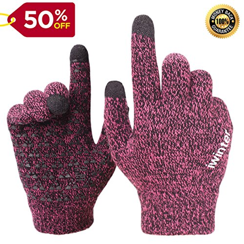 Achiou Winter Touchscreen Gloves Texting product image