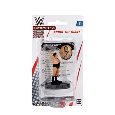 WWE Andre The Giant HeroClix Expansion Pack Multi: Toys & Games