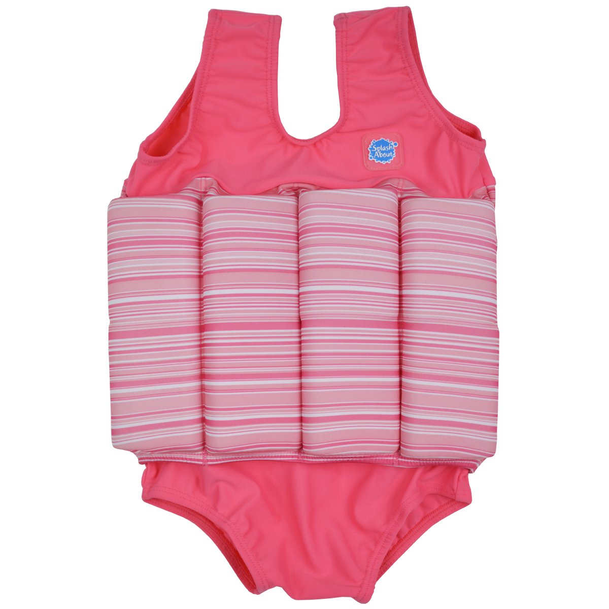 Splash About Collections Float Suit - Adjustable Buoyancy, 1-6 Years (Pink Classic, 4-6 Years (Chest: 61cm | Length: 43cm))
