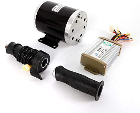 36V 800W Brushed Controller Box with Throttle Grip For Electric Bicycle Scooter