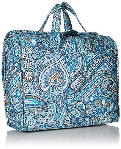 61 jySK1VFL - Vera Bradley womens Iconic Grand Hanging Organizer, Signature Cotton, Daisy Dot Paisley, One Size