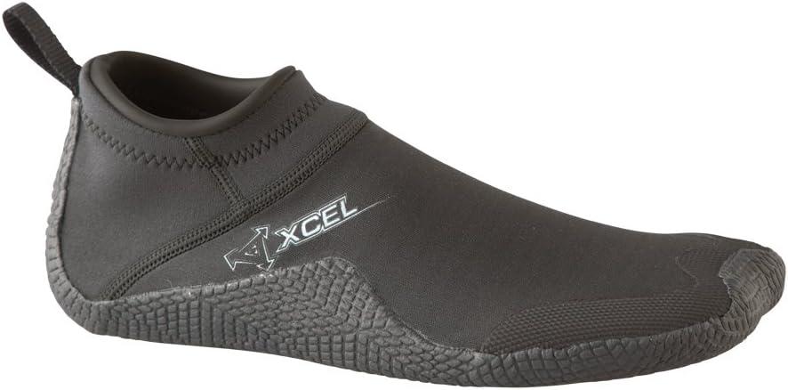 XCEL Unisex Reef Walker 1mm Boot (Black, 7)