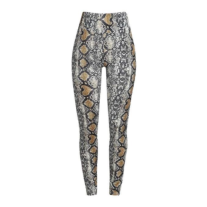 Amazon.com: KaiCran - Pantalones de yoga para mujer con ...