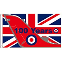 Royal Air Force RAF 100 Years Anniversary Flag - Large 5 x 3 FT - FlagSuperstore©