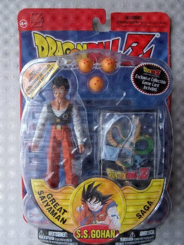 Dragonball Z S.s.gohan Action Figure - Series 10 Toy