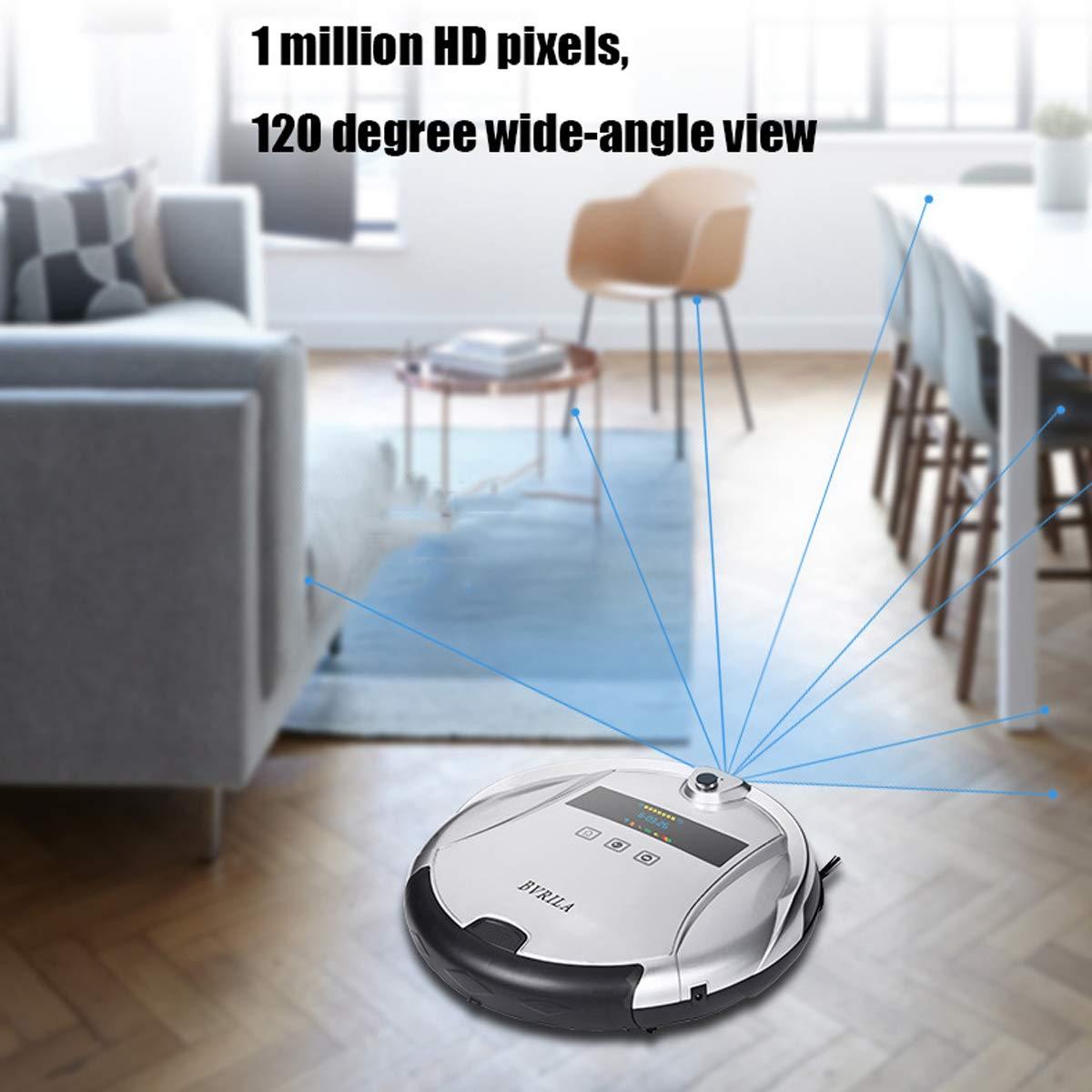 Inicio Completo Inteligente/Robot Aspirador de Limpieza/interconexión de teléfonos móviles/Barrido / Arrastre húmedo/videovigilancia HD/se Adapta a una ...