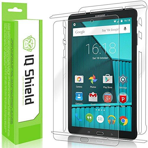 Samsung Galaxy Tab E 8.0 Screen Protector, IQ Shield LiQuidSkin Full Body Skin + Full Coverage Screen Protector for Samsung Galaxy Tab E 8.0 HD Clear Anti-Bubble Film - with
