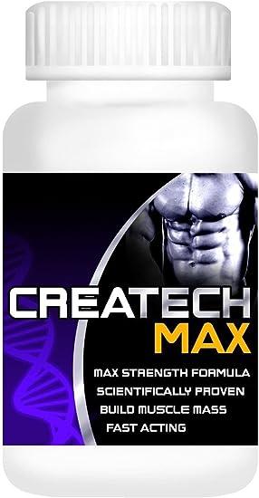 Suplemento de creatina Createch Max proteína suplemento ...
