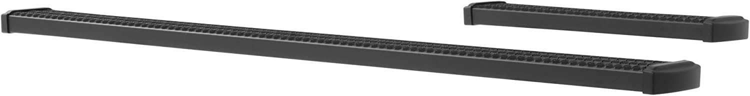 LUVERNE 415100-400744 Grip Step Black Aluminum 100-Inch 36-Inch Cargo Van Running Boards for Select Dodge Freightliner Mercedes-Benz Sprinter 2500 3500