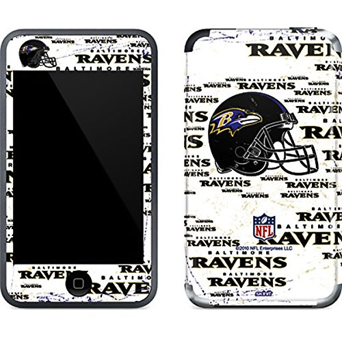 Baltimore Ravens Ipod Skin - NFL Baltimore Ravens iPod Touch (1st Gen) Skin - Baltimore Ravens - Blast Vinyl Decal Skin For Your iPod Touch (1st Gen)