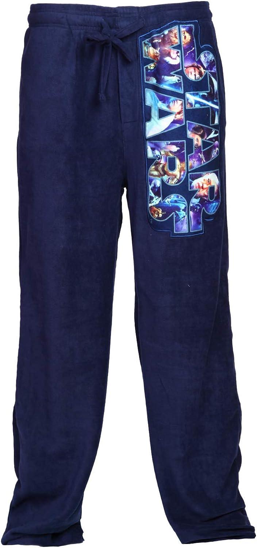 Star Wars Logo Vintage Microfleece Graphic Sleep Lounge Pants