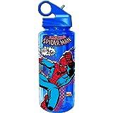 Silver Buffalo MC2064 Marvel Spider-Man Tritan Water Bottle, 20-Ounces