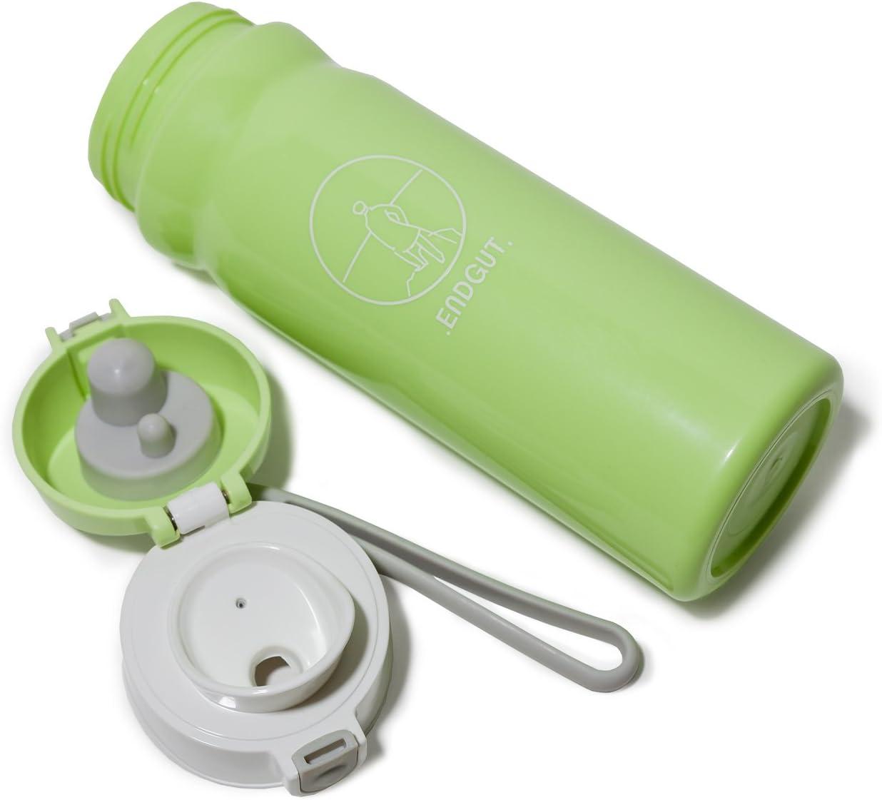 Botella de plástico ecológico, respetuoso con el medio ambiente ...