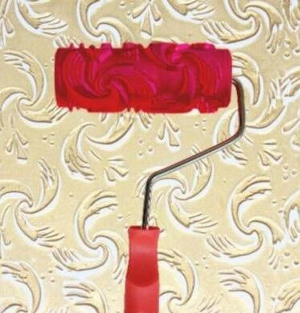 mod/èle 18 Black Temptation Mur de Peinture en Relief Rouleau Wall Decor DIY Outil