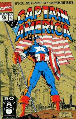 Captain America (1st Series) #383 VF/NM ; Marvel comic book