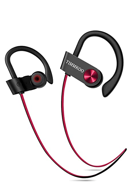 Bluetooth Headphones Wireless Earbuds IPX7 Waterproof Sport Running Workout Headphones with Mic Noise Cancelling Bluetooth 4.1