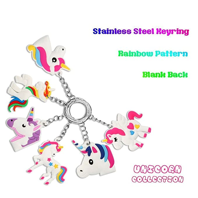 UNICORN WRISTBANDS HAIR TIE THANK YOU FRIENDS 10=£6.99 12=£7.99 PARTY BAG FAVOUR