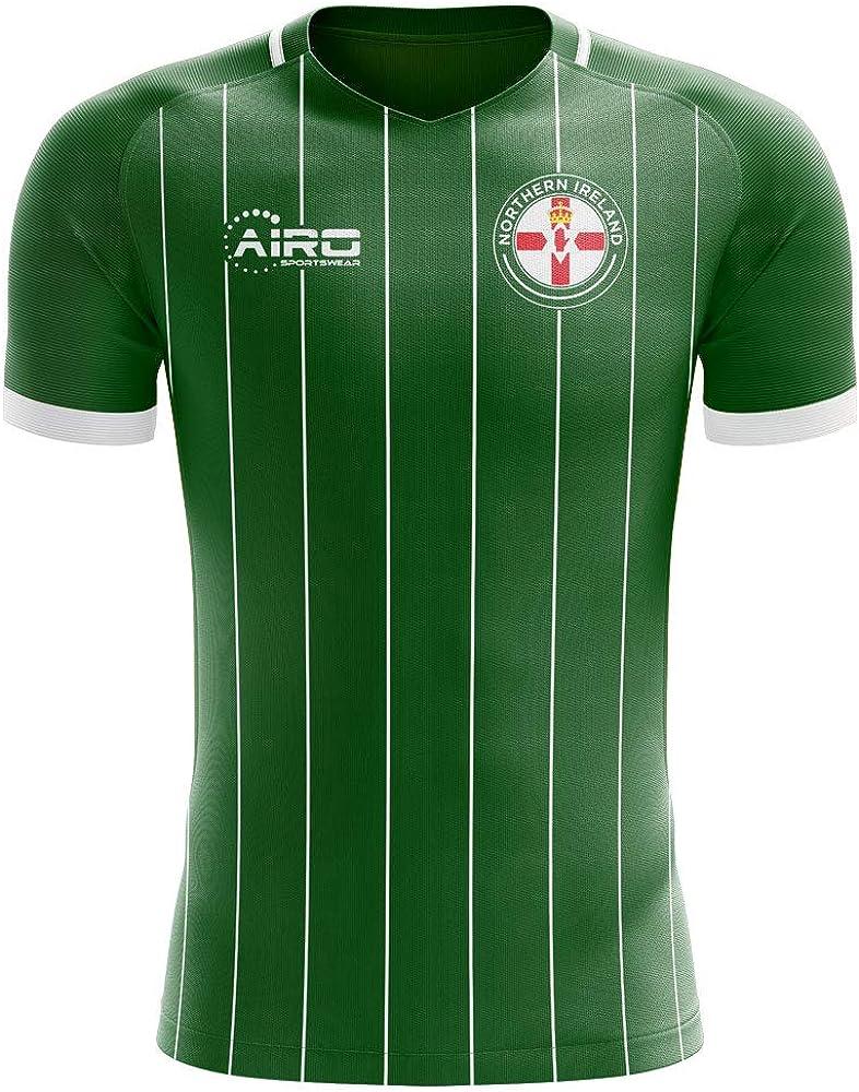 Airosportswear 2020-2021 Northern Ireland Home Concept Football Soccer T-Shirt Jersey - Womens