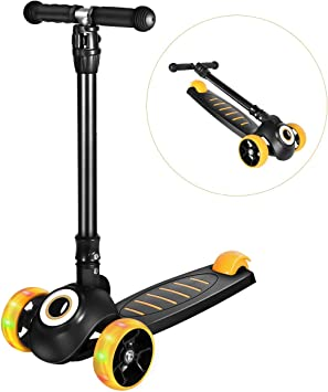 Amazon.com: Greentest - Patinete plegable y ajustable ...