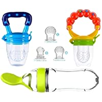 G-Bay Baby Food Feeder Pacifier Fruit Fresh Silicone Squeeze