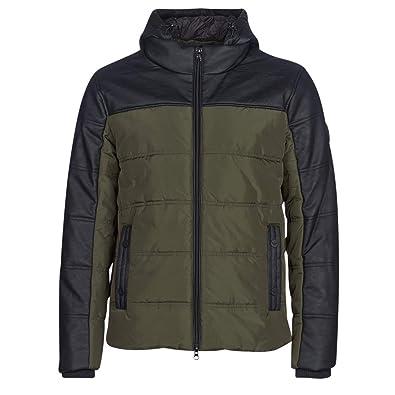 Emporio Armani EA7 Mens Mountain M MEDIUM Tritonal Jacket Schwarz Kaki  Daunenjacken XL 0a16a9dfa3