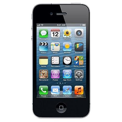 Apple Iphone 4 Smartphone 89 Cm Schwarz Amazonde Elektronik