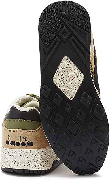 Diadora Eclipse Premium Uomo Beige Jute Sneaker: Amazon.it