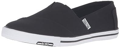 Skechers Bobs from Women's Lotopia-Pleasantville Fashion Sneaker, Red, 5 M US