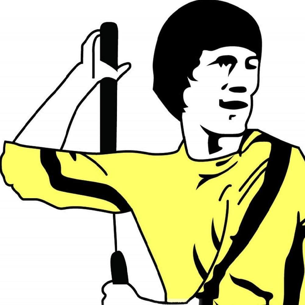 Fayscingo 2 Pack Artes Marciales Nunchucks de Espuma Pr/áctica de Seguridad Entrenamiento Nunchaku Bruce Lee