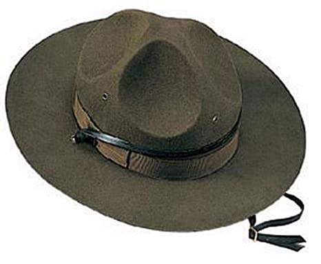 ANS Military Hats Military Campaign Hat  Amazon.in  Clothing   Accessories c56b2ca0582