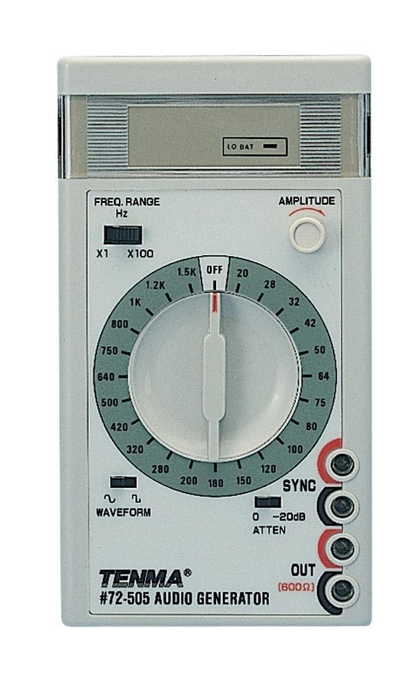 Hand Held Audio Generator Tenma 72-505